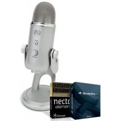 Blue Yeti Studio (micrófono + programa para grabar)