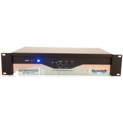 Amplificador Skrander SKR-6000 PRO-4CO, envio gratis, meses sin intereses